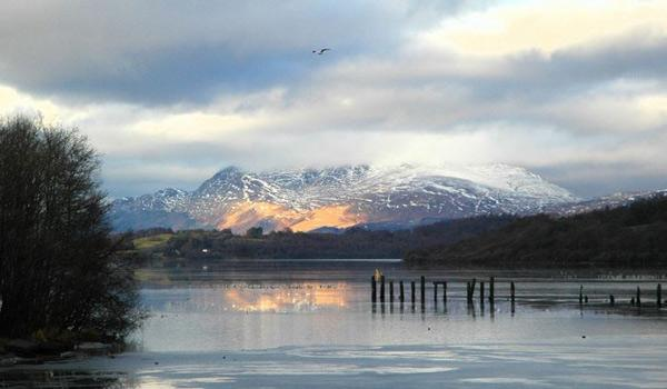 Winter at Loch Lomond