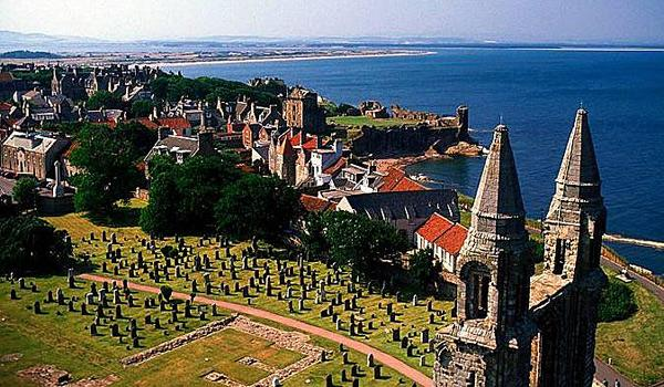 Overlooking the City of St Andrews