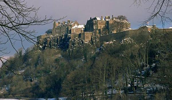 Stirling Castle's commanding position has ensured its importance through the centuries.
