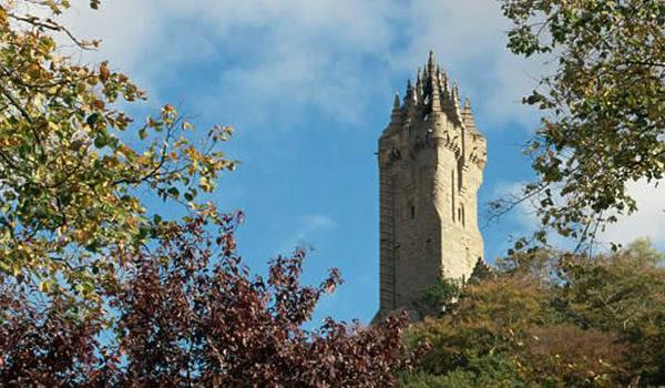 The Wallace Monument near Stirling