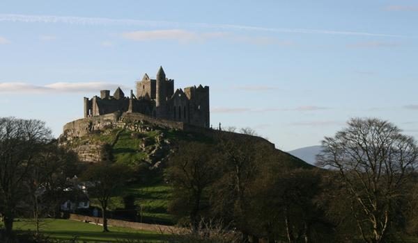 The Rock of Cashel Medieval Fortress in County Tipperary