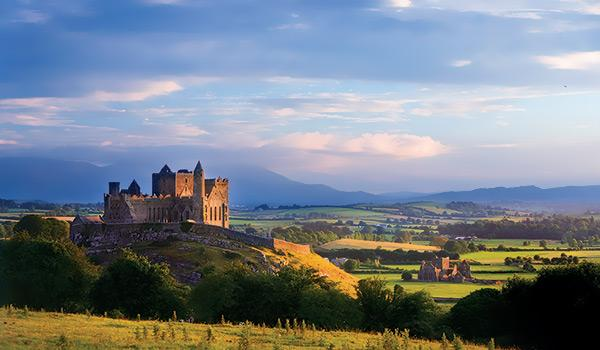 The Rock of Cashel, also known as Cashel of the Kings and St. Patrick's Rock.