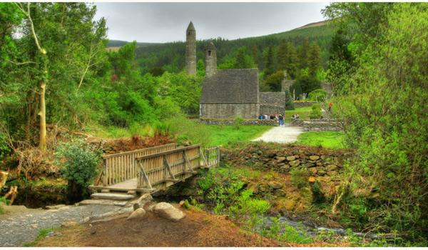 The 6th Century Monastic Settlement at Glendalough