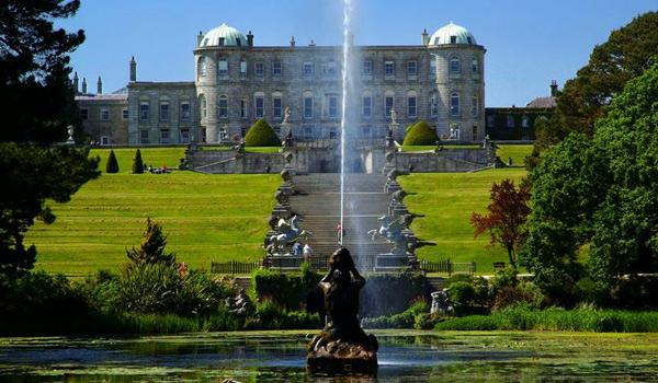 Powerscourt House & Gardens, County Wicklow.