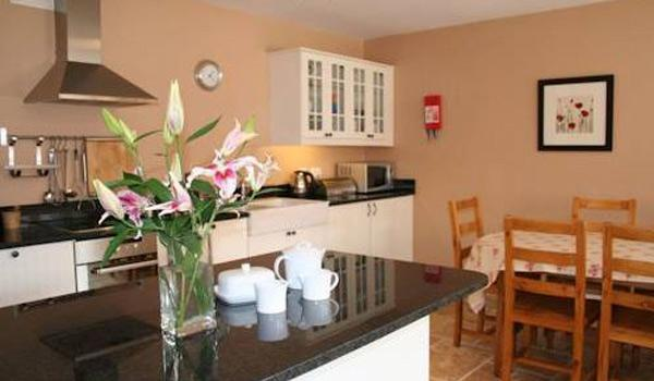 Modern Kitchen at Decoy Country Cottages