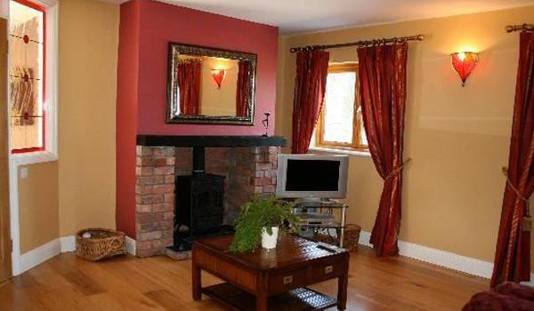 Living Room at Decoy Country Cottages