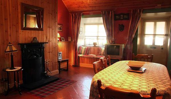 Traditional and cosy interior of Gate Lodge Cottage