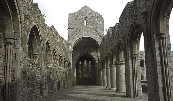 12th Century Boyle Abbey in Boyle, County Roscommon.