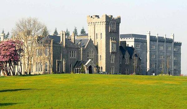 Kilronan Castle is tucked away in the rolling Roscommon countryside