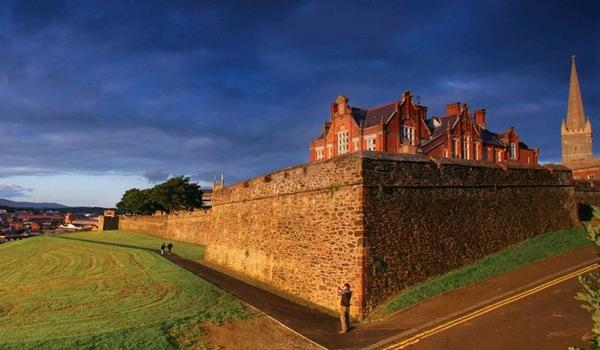 The Famous Walls of Derry City