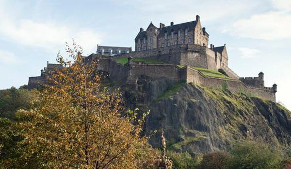 Edinburgh Castle, perched atop Castle Hill in the Heart of the City