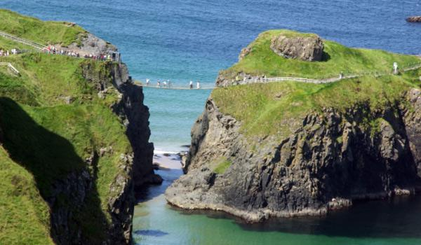 The Carrick-a-Rede Rope Bridge, County Antrim