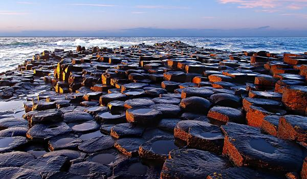 Giants Causeway, UNESCO World Heritage Site - County Antrim