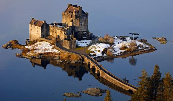Eilean Donan Castle is an impressive sight at the 'Gateway' to the Isle of Skye.