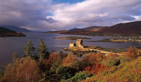 Eilean Donan Castle at the gateway to the Isle of Skye