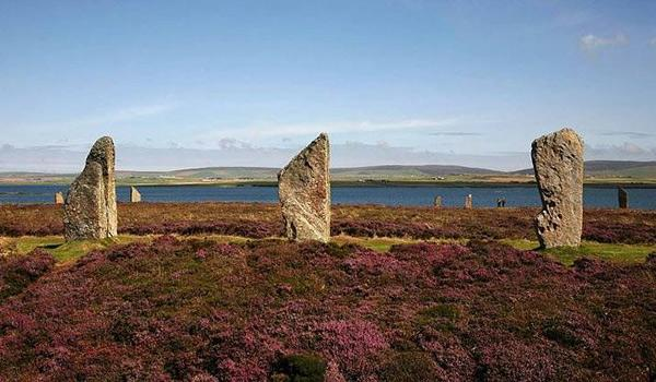 The Ring of Brodgar on the Isle of Orkney
