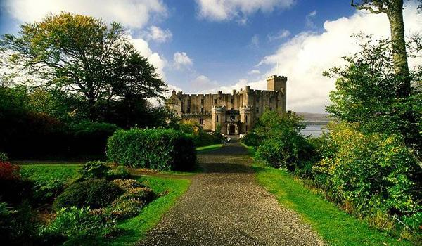 Dunvegan Castle on the Isle of Skye.