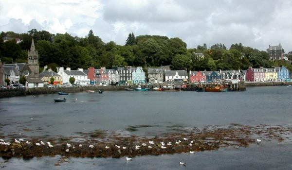 The Tobermory Waterfront on The Isle of Mull
