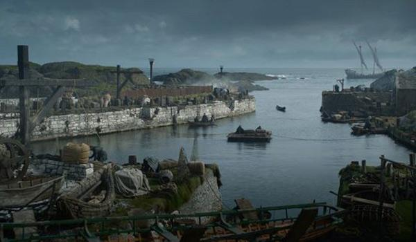 The Iron Islands a.k.a. Ballintoy Harbour in County Antrim (Pic Courtesy of HBO)