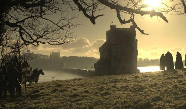 The Twins - filmed near Castle Ward in County Antrim (Pic Courtesy of HBO)