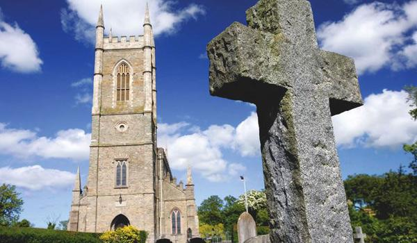 Down Cathedral - Historic Burial Site of St Patrick.