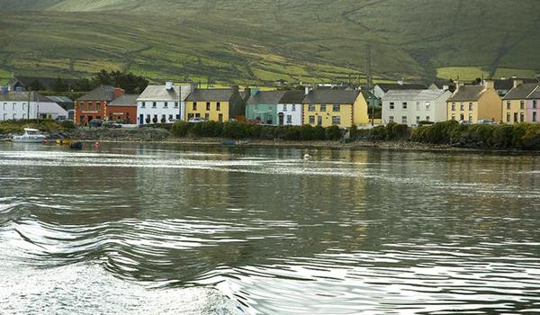 Coastal Village along the Ring of Kerry
