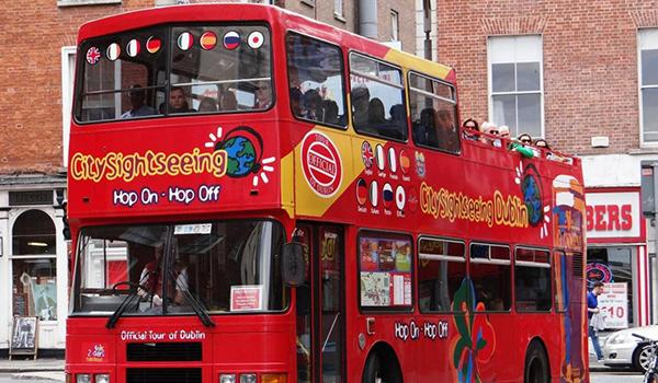 The Hop-on Hop-off Bus is the best way to see all the famous sites in Dublin!