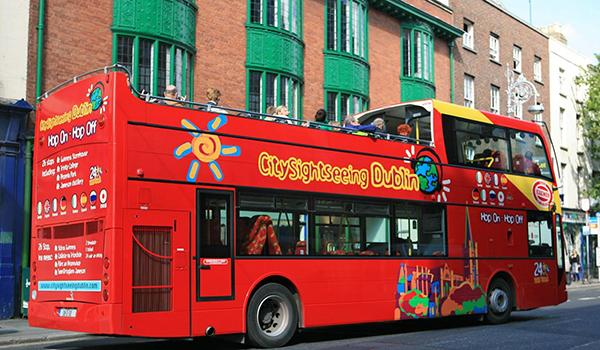 2-Day Dublin Hop-on Hop-off Red Bus