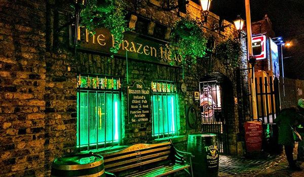 The Oldest Pub in Dublin, The Brazen Head.