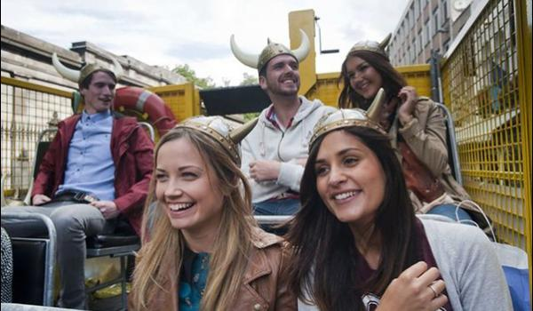 Enjoy the laughter and fun while on the Viking Splash Tour in Dublin.