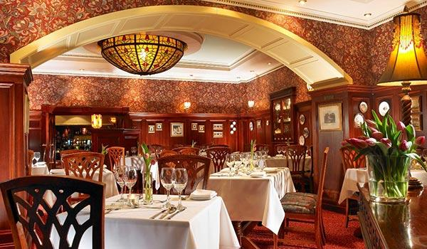 The International Hotel has many fine-dining options, including this Irish delight.