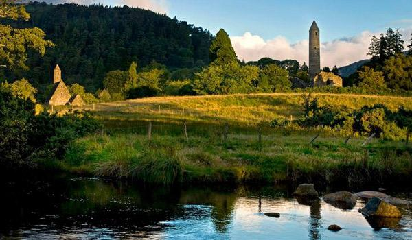 Peaceful Scenery Abounds in Beautiful Glendalough