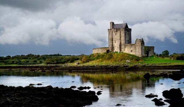 Dunguaire Castle on the shores of Galway Bay in Kinvara