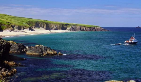 The Ring of Kerry is adorned by countless pristine beaches
