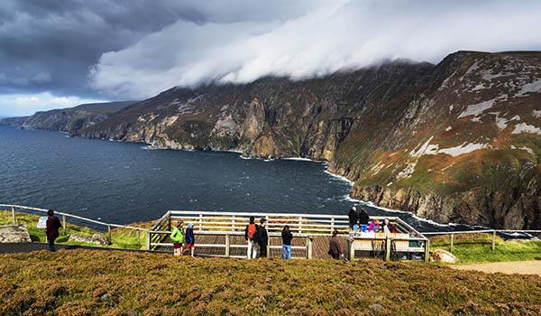 Walk along the Spectacular Seacliffs of Slieve League