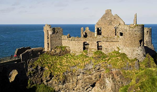 Dramatically-Perched Dunluce Castle is an Icon of Northern Ireland