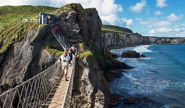 Cross the Famous Carrick-a-Rede Rope Bridge