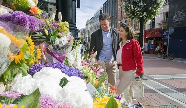 Dublin's Grafton Street is Ireland's Premier Shopping Locale