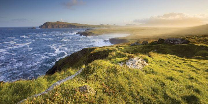 The Ring of Kerry coastline